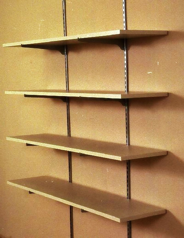 Adjustable Wall Shelves Wood | http://gagnant59.com | Pinterest ...