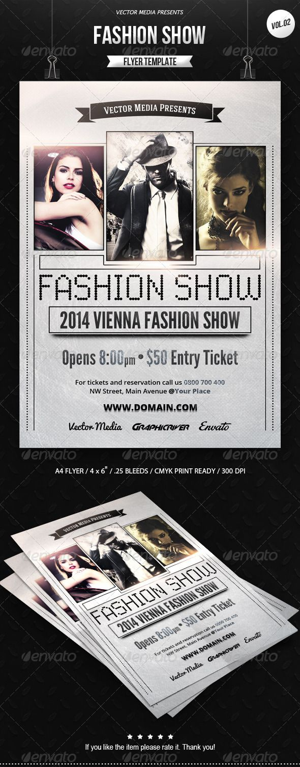 Fashion Show - Flyer [Vol.02]