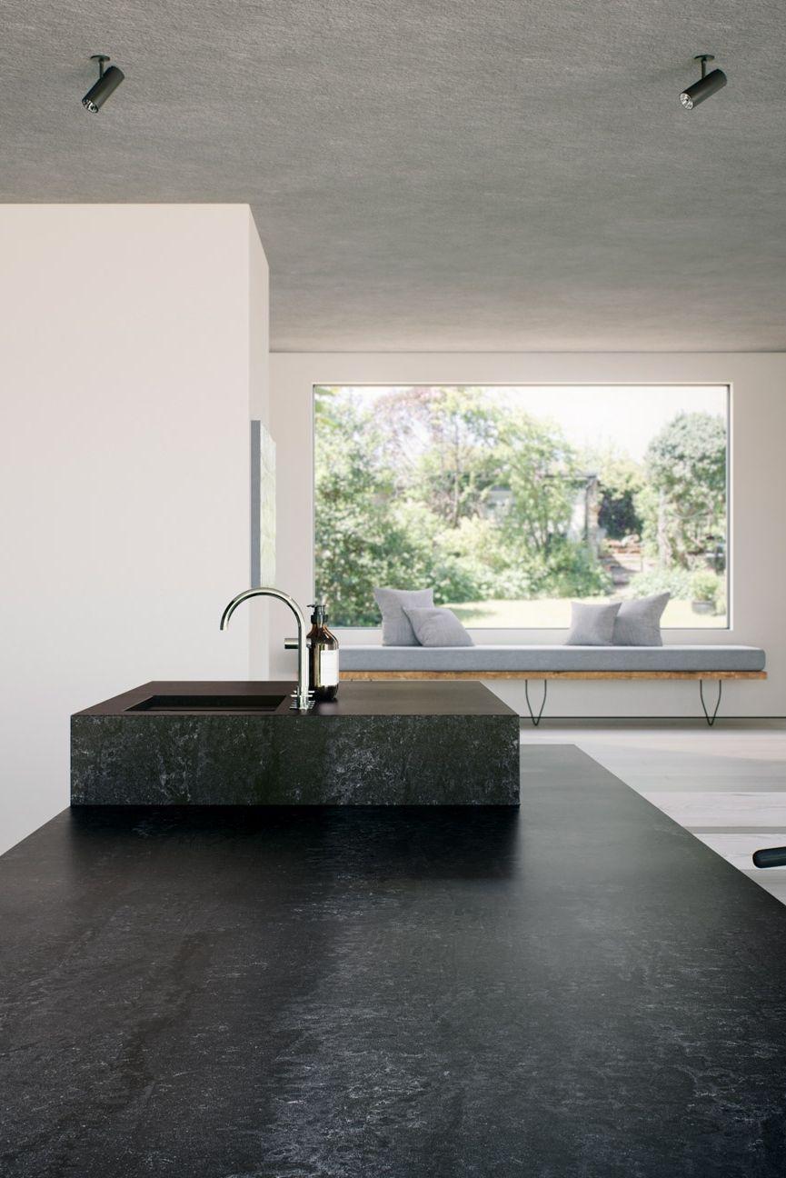 Moderne Küchen in innovativen Materialien