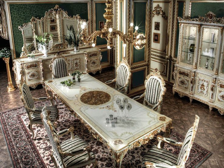 Empire Dining Room In Neoclassic Styletop And Best Italian Classic Entrancing Dining Room Empire Design Inspiration