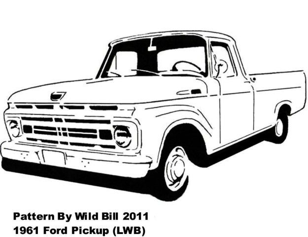 1961 ford pickup  lwb  - transportation - user gallery