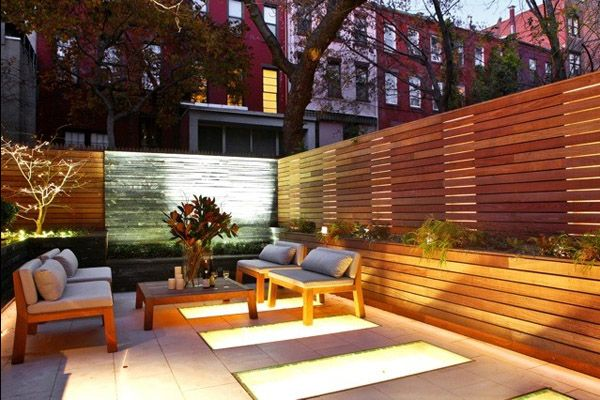 Townhouse remodel in historic Greenwich Village Greenwich village - designer gartensofa indoor outdoor