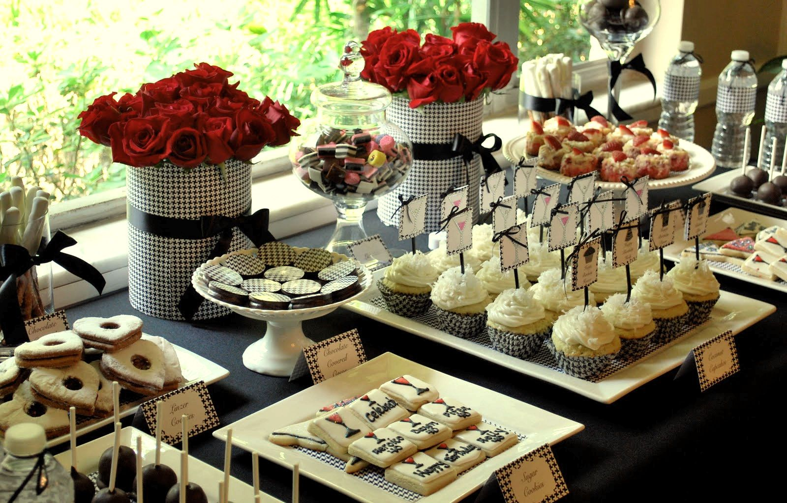 TRENDS Beautiful Dessert Tables On 40th Birthday PartiesAdult
