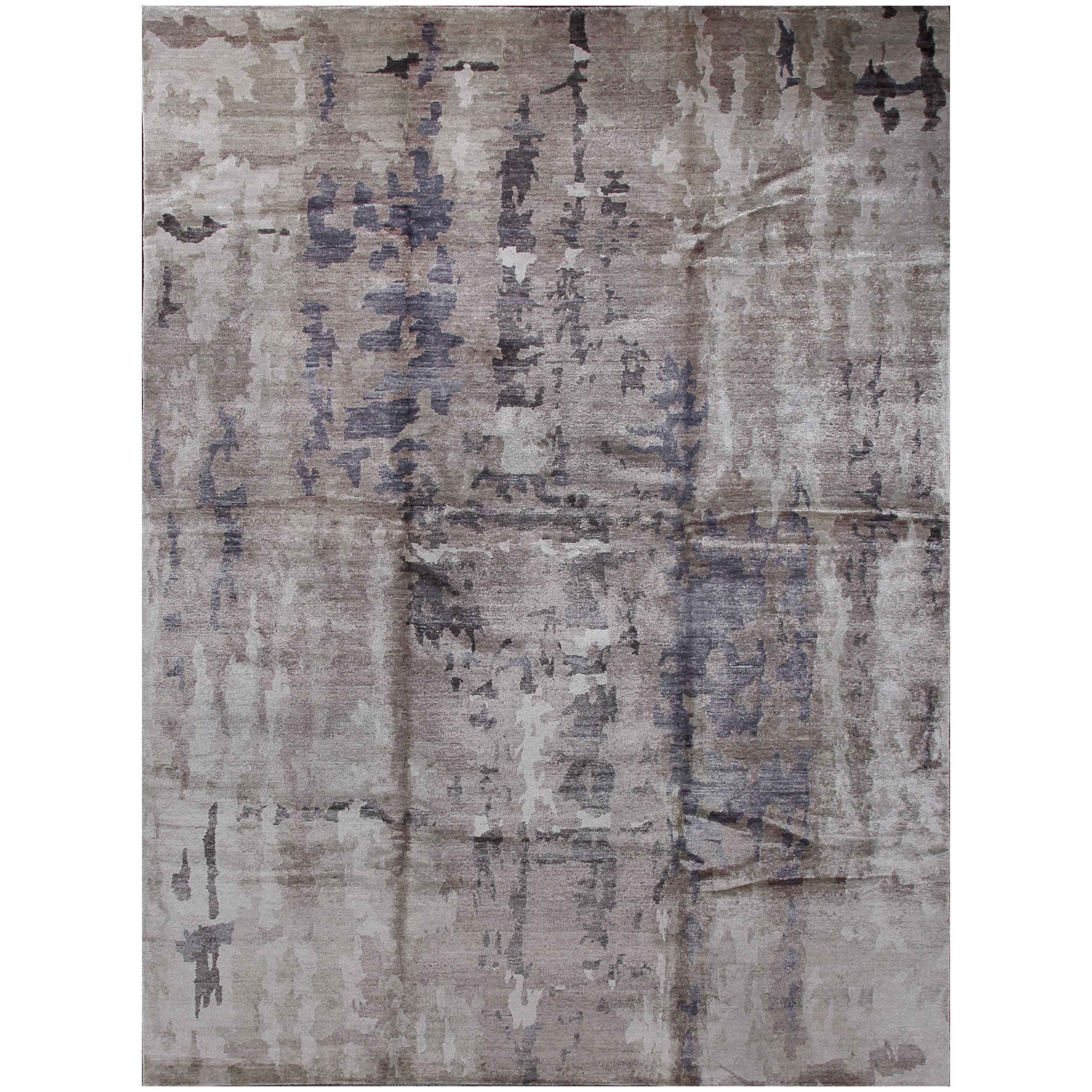 ABC Accent Designer Reserve Sapphire Tibetan Hand-knotted Rug