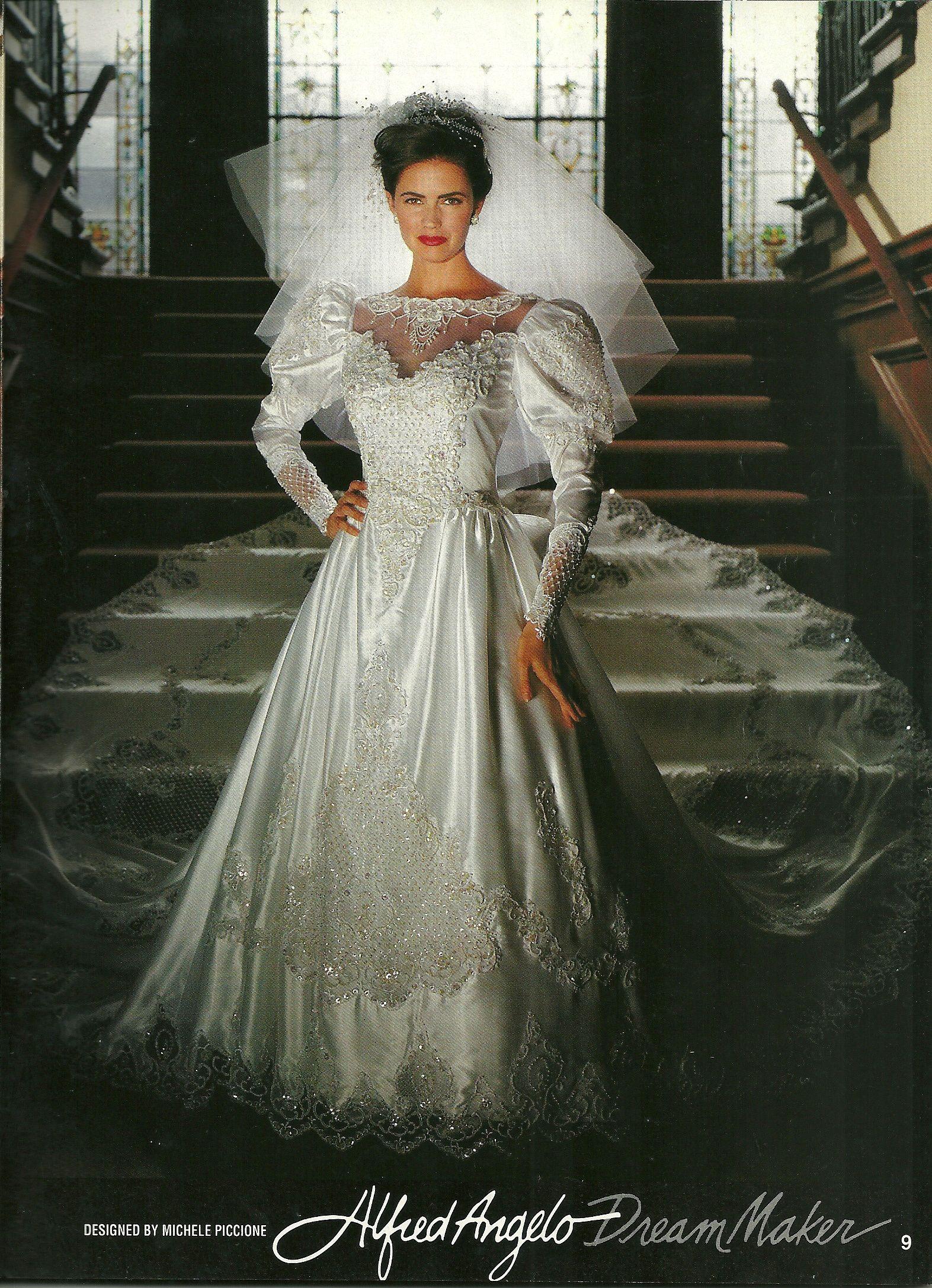 Alfred Angelo Dream Maker Spring Of 1992 Found In A Magazine Wedding Attire Dresses