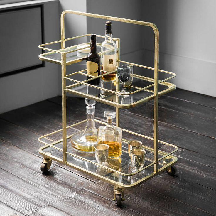 Stirling Drinks Trolley Tea Trolley Bar Cart Inspiration