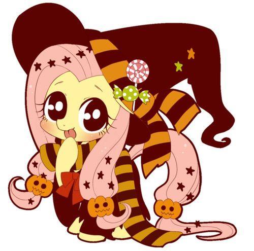 My Little Pony Halloween- Fluttershy