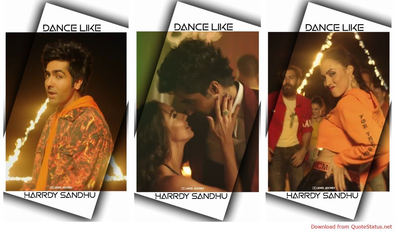 Dance Like Harrdy Sandhu song download video status mp4