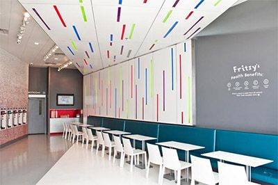 Modern Candy Store Design in Toronto Commercial Interior Design