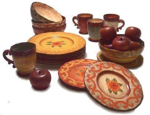 Tuscan Dish Sets - Home Ideas