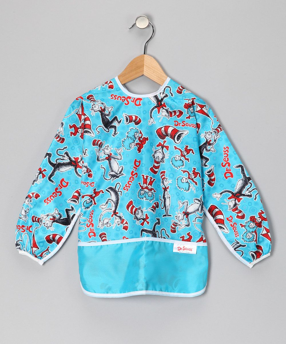 Bumkins Cat in the Hat Art Smock - Kids  if i hadn't just bought smocks at ikea!