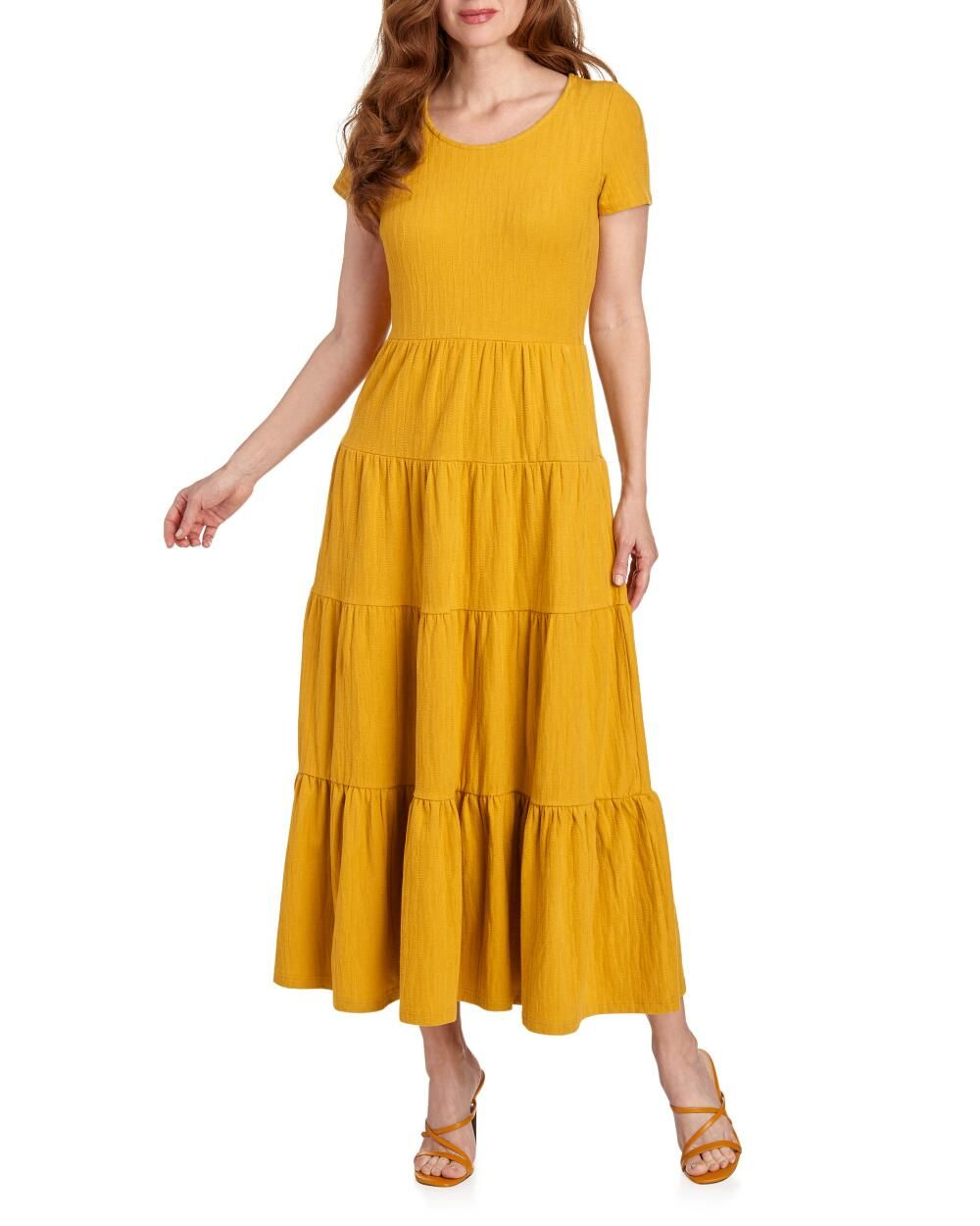 Chelsea Theodore Tiered Maxi T Shirt Dress Dresses Cool Outfits Short Sleeve Dresses [ 1250 x 1000 Pixel ]
