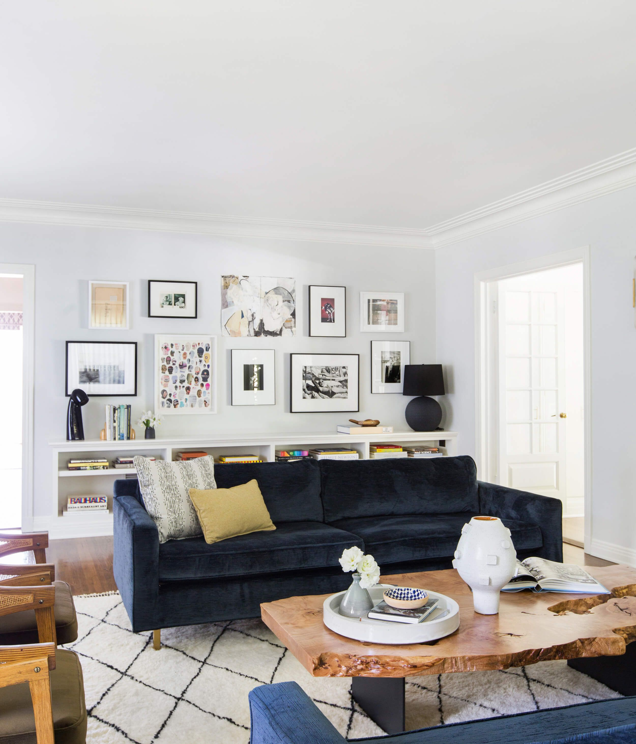 Griffith Park Living Room Reveal  Emily Henderson  Living Room Glamorous Living Room Design Photos Gallery Design Ideas