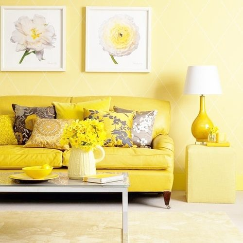 mellow yellow Colour Yellow - All Shades Pinterest Bricks and Room