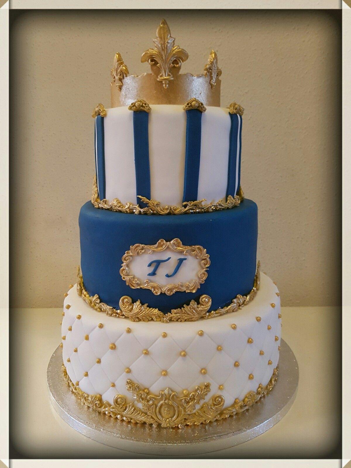 Baptism 1st birthday cake Doop 1e verjaardagstaart Niki baby