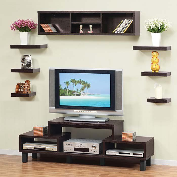 Living Room Tv Stand With Shelving Storage Without The Huge