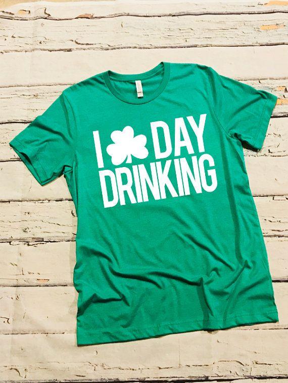 54e2b8a42 St. Patrick's Day Shirt; Shamrock Shirt; Funny St. Patrick's Shirt; I Love  Beer Shirt; St. Patty's D