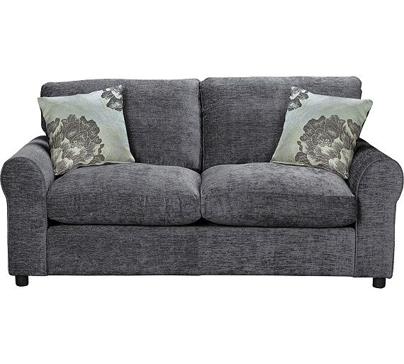 sofa bed argos colorful designs buy home tessa fabric charcoal at co uk your online shop for beds chairbeds and futons sofas armchairs chairs