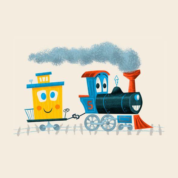 Train pals