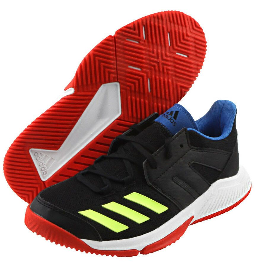 adidas Essence Badminton Shoes Unisex Black Indoor Sports Sneakers NWT  BD7406  adidas bf32c28b8