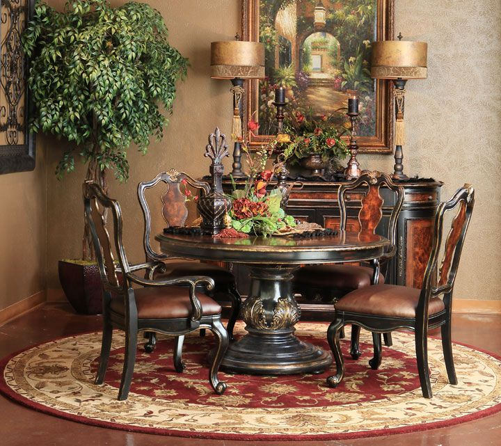 Tuscan Style Dining Room Furniture: Hemispheres - A World Of Fine