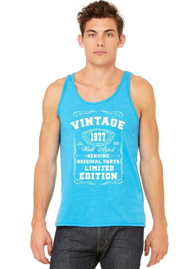 well aged original parts limited edition 1977 tank top
