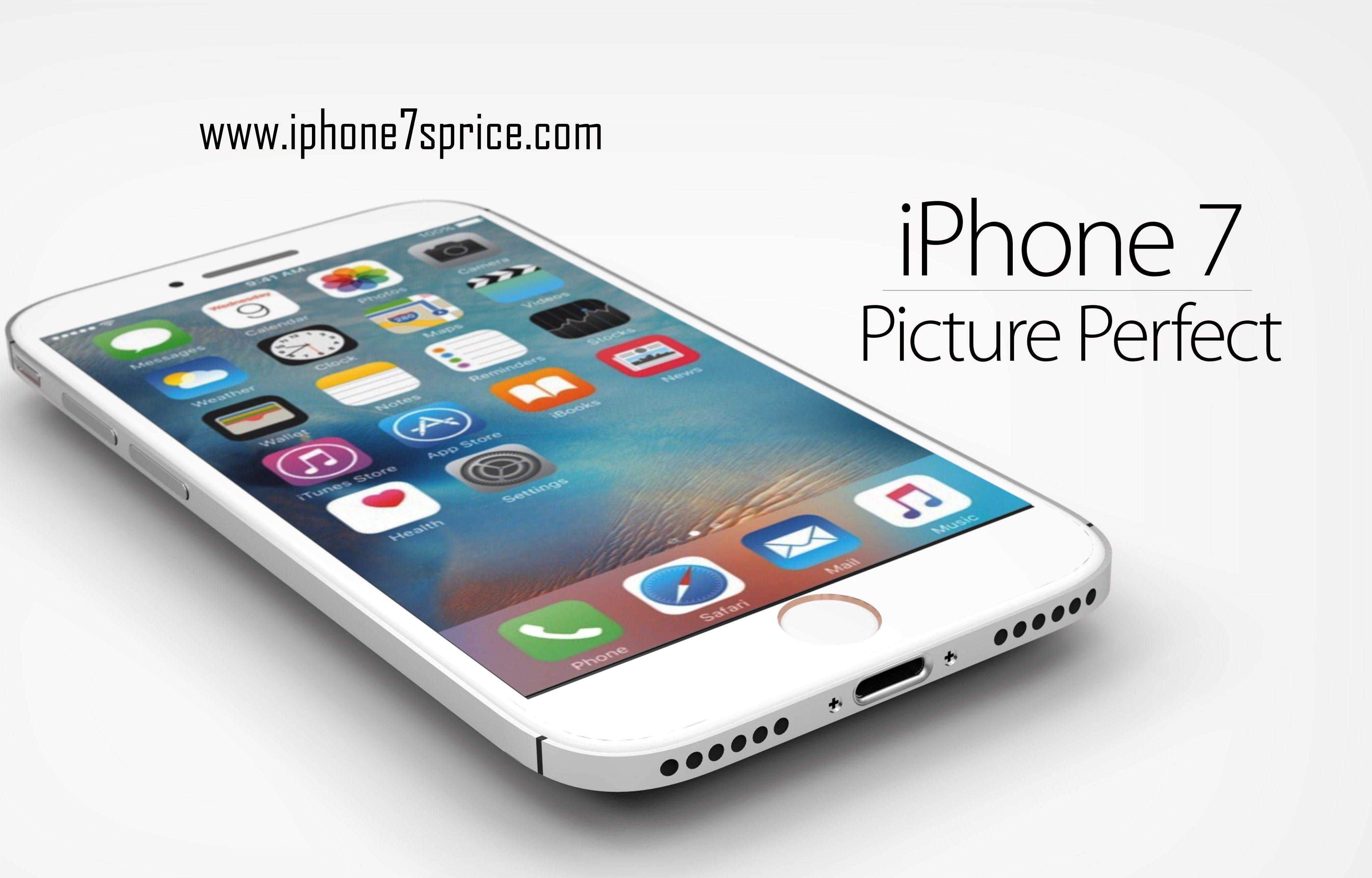 iPhone 7 Plus Concept Design Photos