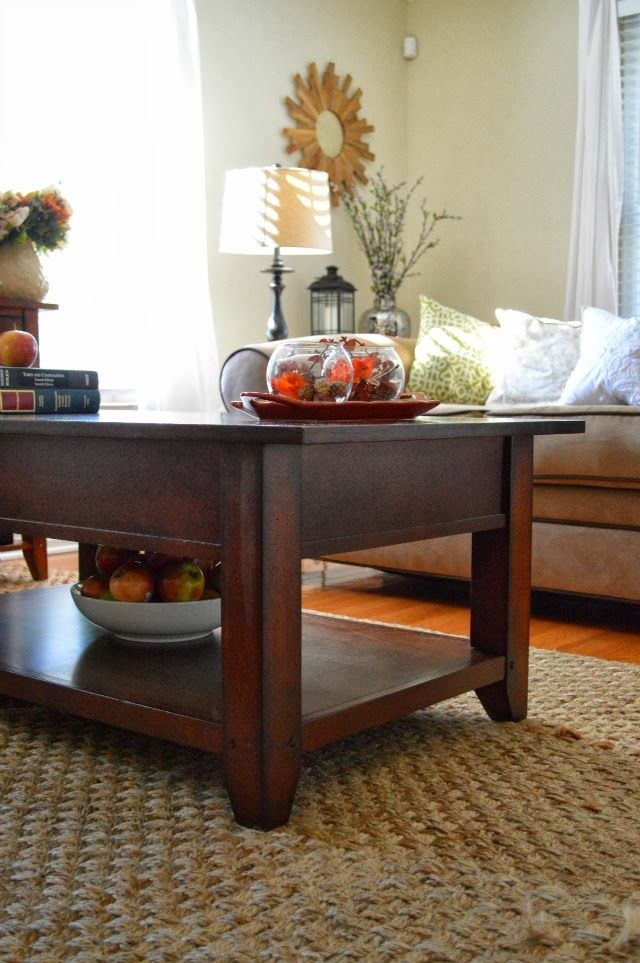 Fall Coffee Table Inspiration | Coffee table, Coffee table ... on Coffee Table Inspiration  id=21215