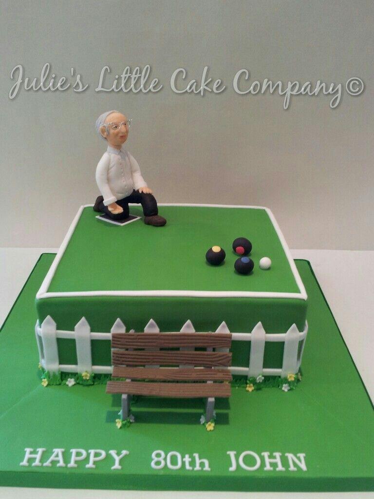 Crown Green Bowling Birthday Cake My Cakes Pinterest Cake