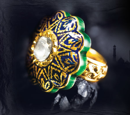 fcb5735547804 Cocktail ring by Tanishq | Wedding!!! | Indian jewelry, Rings, Jewelry