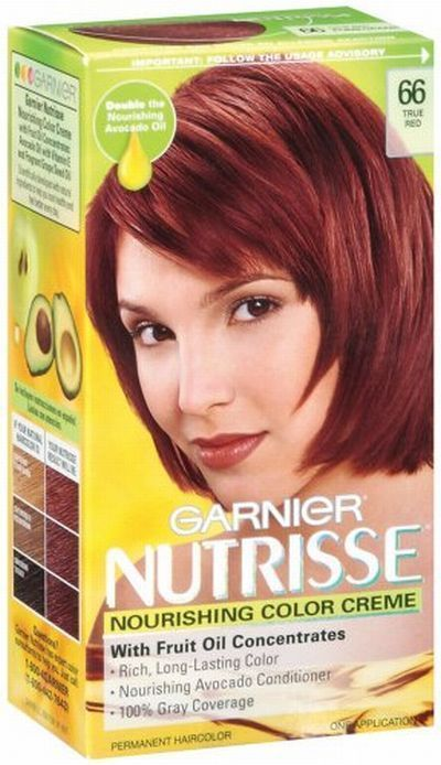 Garnier Nutrisse True Red   Hair Color Ideas and Styles ...