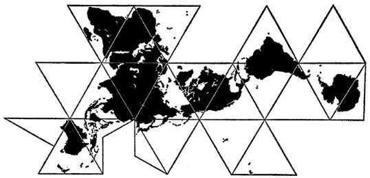 Dymaxion maps the coveted atlas pinterest tattoo tatt and tatting dymaxion maps gumiabroncs Choice Image