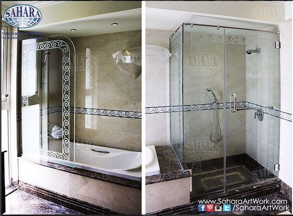 Bathroom Set Shower Enclosure And Bathtub Partition Made From