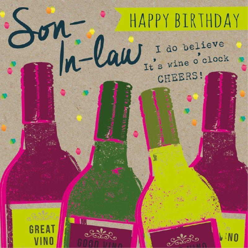Birthday soninlaw birthday greeting cards birthday