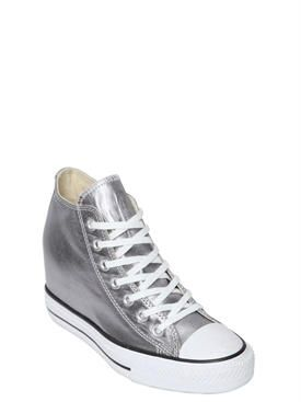 converse - women - sneakers - 80mm all star metallic canvas sneakers