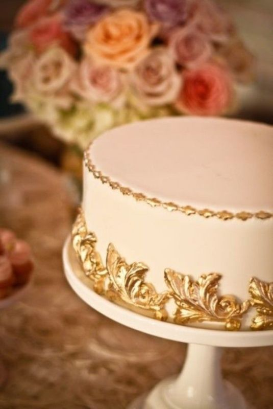 Picture Of Pretty One Tier Wedding Cakes To Get Inspired 9