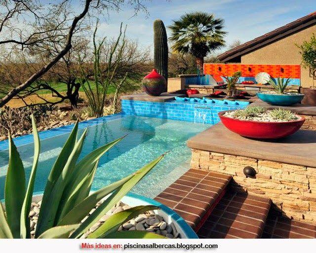 Dise os de piscinas con cascadas buscar con google for Disenos de cascadas para piscinas