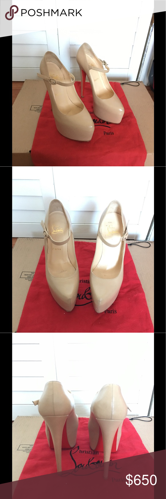 31df4705356 💯Authentic Christian Louboutin Lady Daf 37 Authentic Christian ...