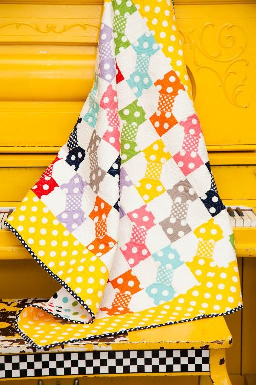 Riley Blake Polka Dot Patch Quilt - None | Quilt Ideas | Pinterest ... : polka dot quilt pattern - Adamdwight.com