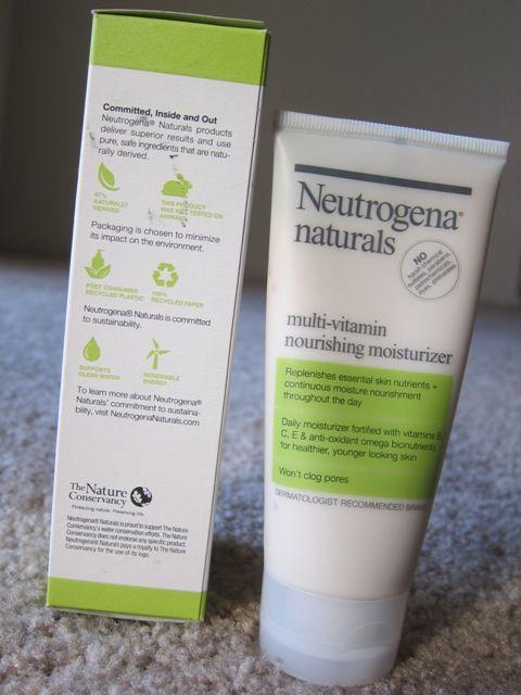 Neutrogena Naturals Multi Vitamin Nourishing Moisturizer Review