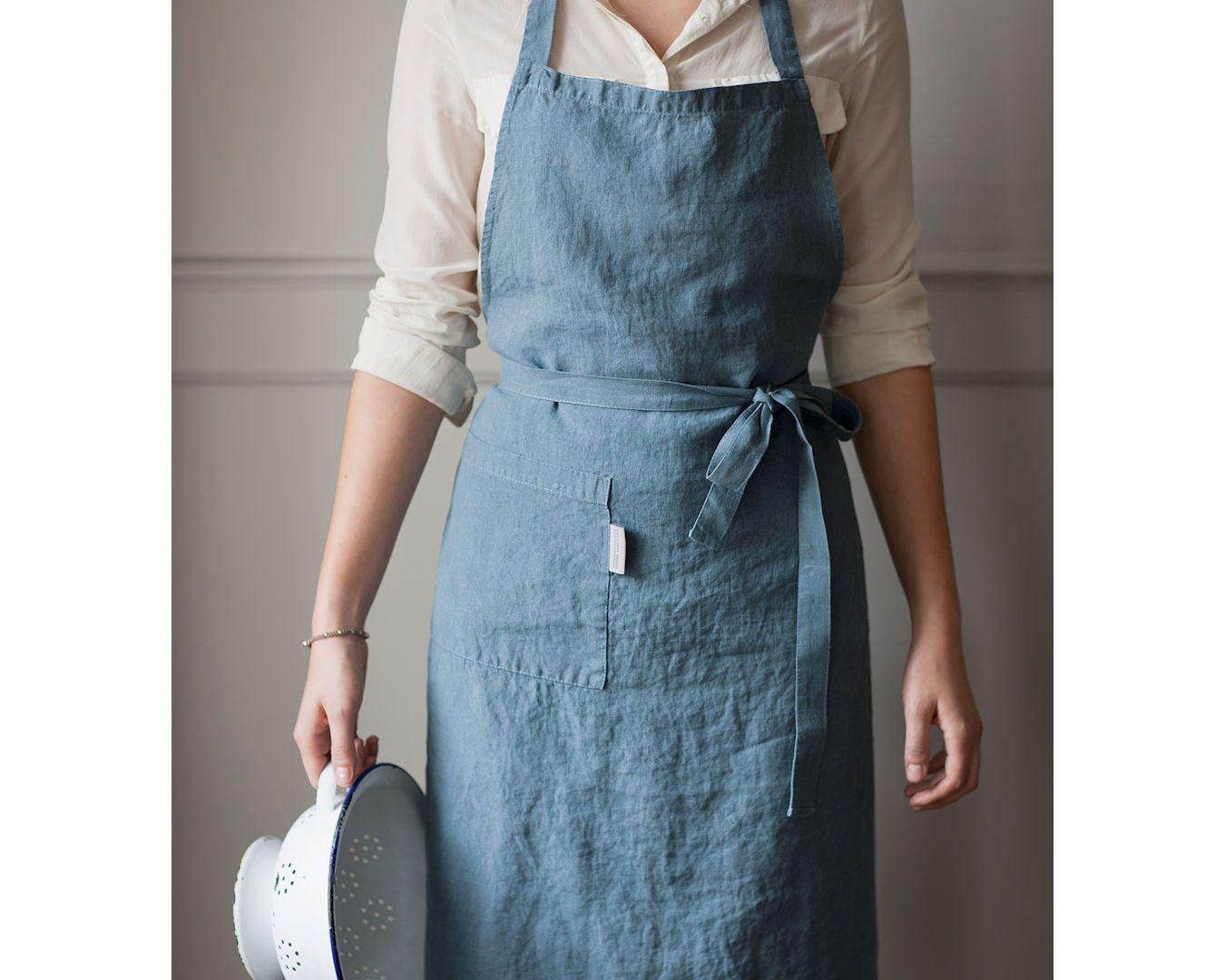Blue apron restaurant - Apron Parisian Blue