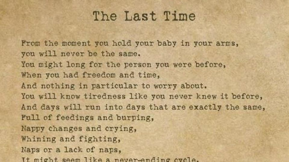 A Beautiful Poem Every Parent Needs To Read Parenting Poems