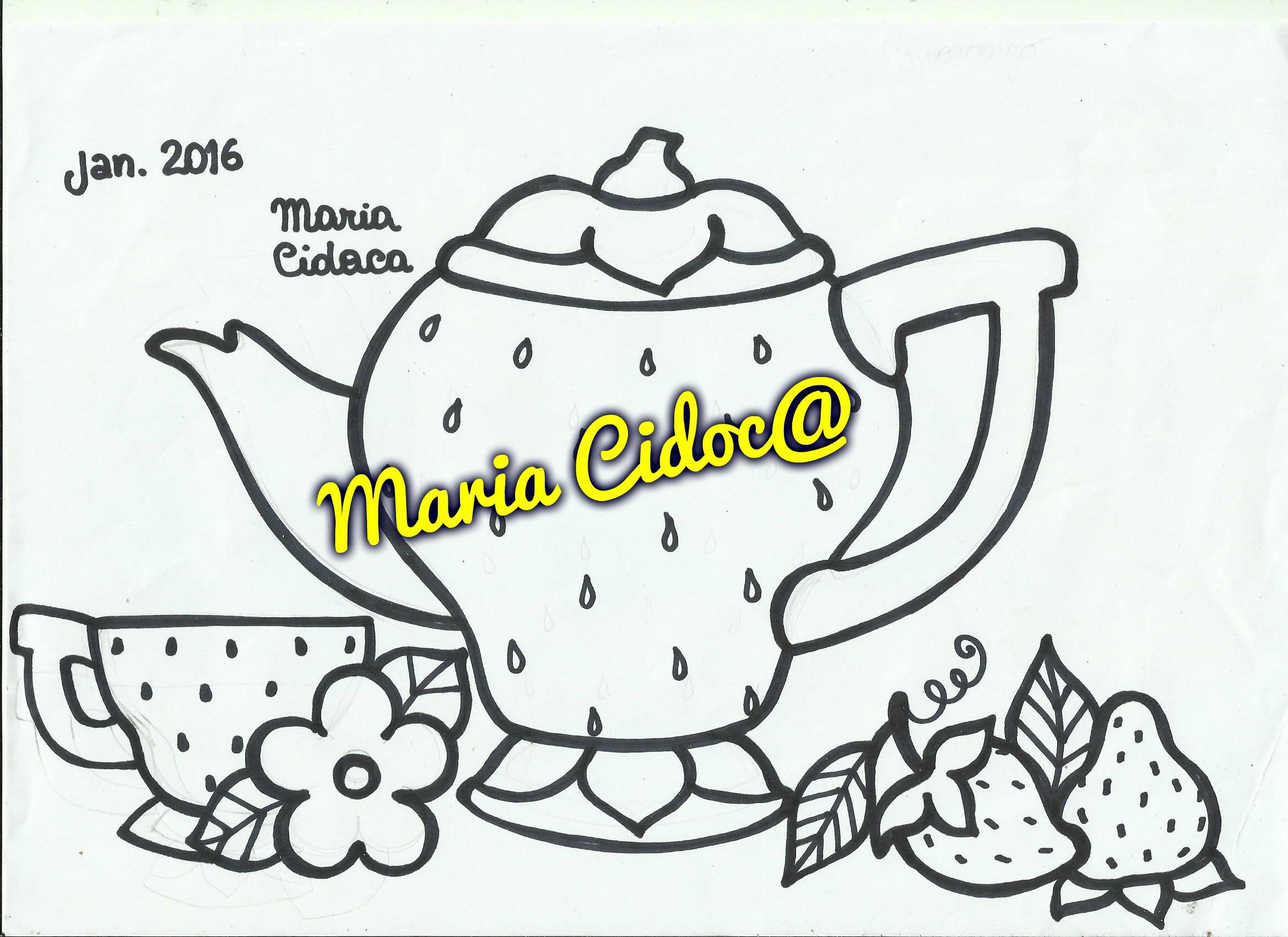 bule morango tetera fresa strawberry tea pot