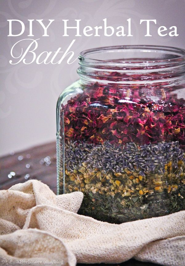Diy Herbal Bath Teas Make Great Holiday Gifts