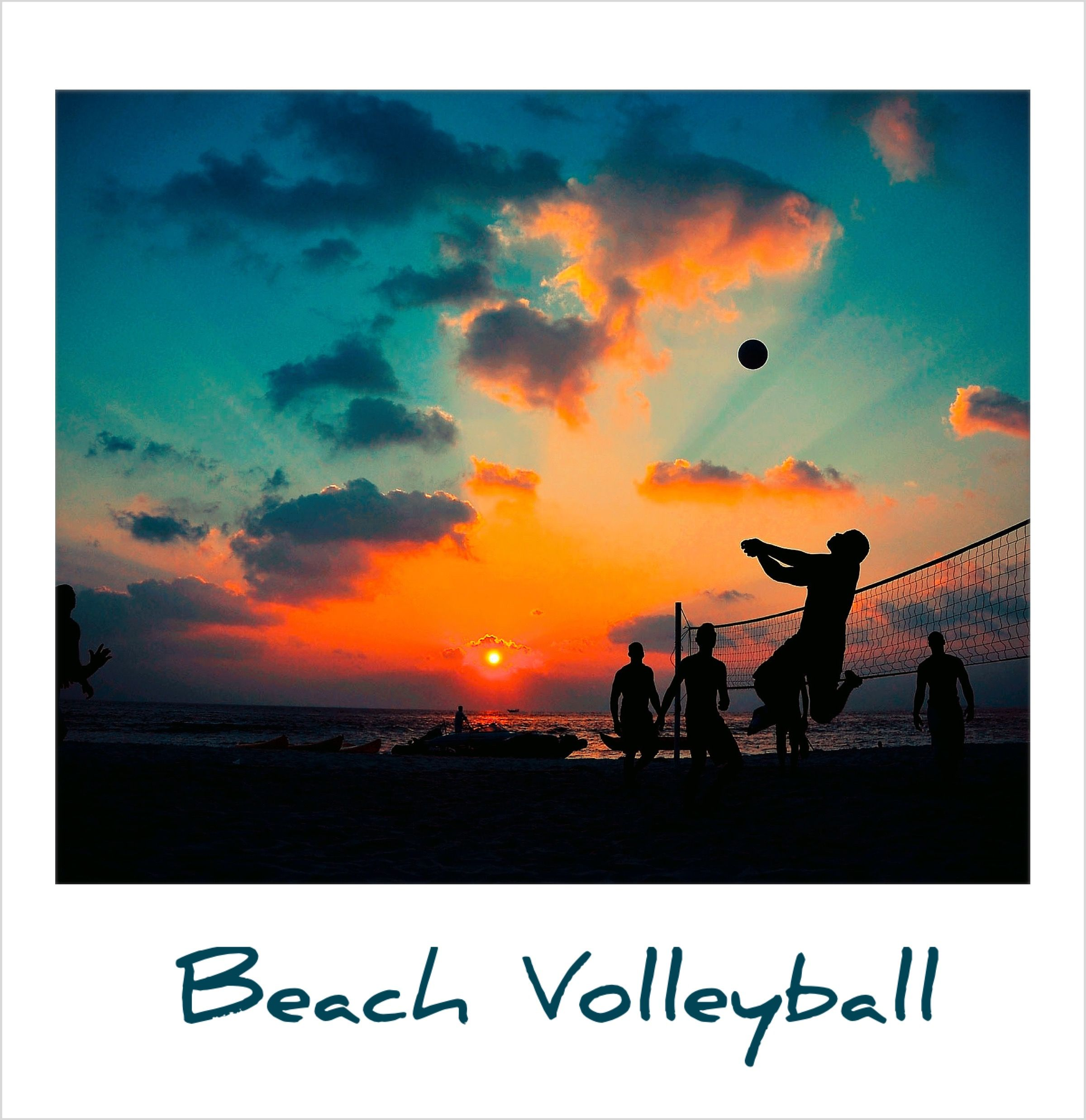 Beach Volleyball Polaroidfx Polaroid Sports Summertime Play Volleyball Wallpaper Beach Volleyball Volleyball Backgrounds