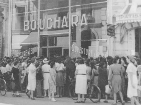 Bouchara une entreprise familiale tissus d 39 ameublement grandir a paris cafes restaurants - Tissus d ameublement paris ...