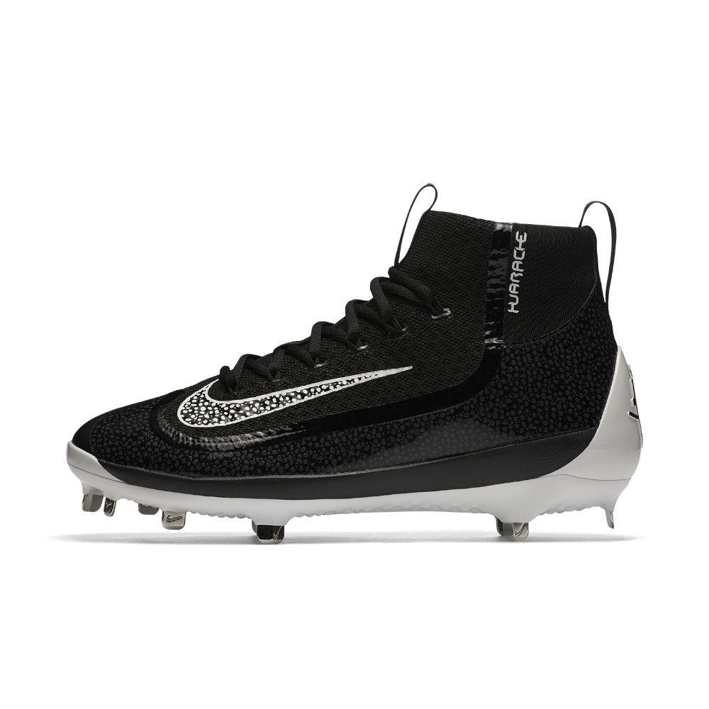 015a511dc3d0 Nike Alpha Huarache 2K Filth Mid Men's Baseball Cleats Size 13 (Black) -  Clearance Sale