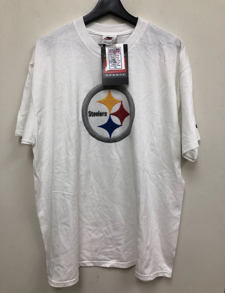 98cc3ca89c3 Nike Pro Line NFL Pittsburgh Steelers Logo Shirt Size L Brand New With Tags  | eBay