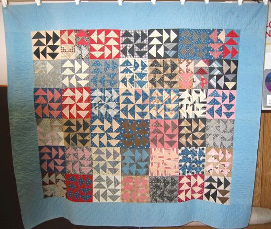 The Quilt Index Dutchmans Puzzle Quilts Pinterest Block