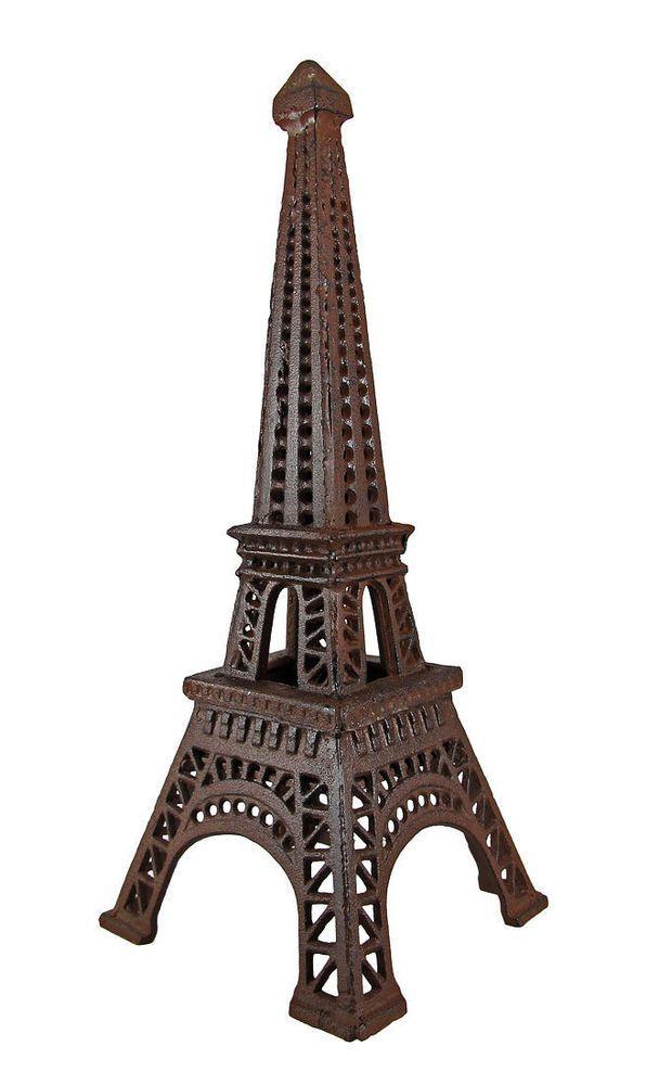 Cast Iron Metal Paris Eiffel Tower Candle Votive Tealight Holder Home Decor Tealight Candle Holders Tea Lights Eiffel Tower Decorations